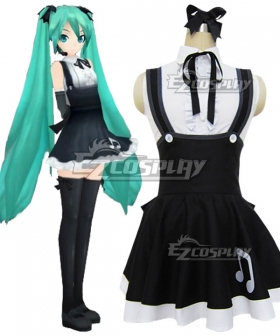 Vocaloid Project Diva 2 Hatsune Miku Lolita Dress Cosplay Costume