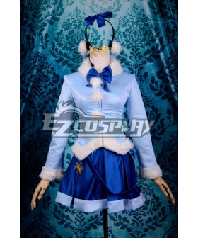 Vocaloid Snow Miku Winter Clothes Cosplay Costume-Y297