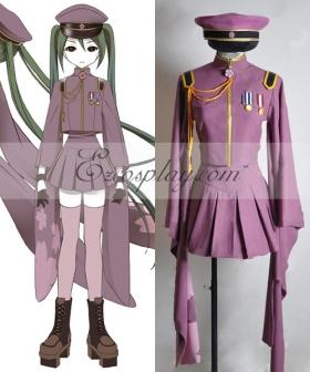 Vocaloid Thousand Cherry Tree Hatsune Miku Uniform Cosplay Costume