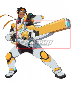 Voltron: Legendary Defender Hunk Garrett Gun Cosplay Weapon Prop