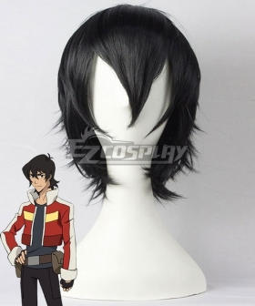 Voltron: Legendary Defender Keith Black Cosplay Wig