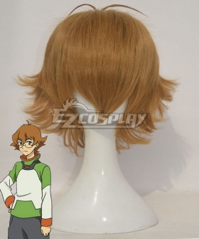 Voltron: Legendary Defender Pidge Gunderson Katie Holt Orange Brown Cosplay Wig