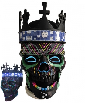 Watch Dogs: Legion Skull Mask Halloween Cosplay Accessory Prop