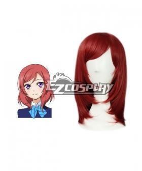 LoveLive!  Nishikino Maki Red Cosplay Wig-348G