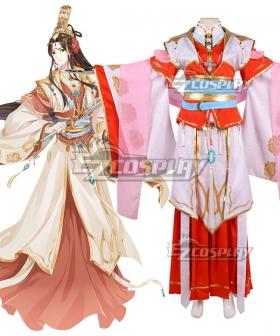 Tian Guan Ci Fu Heaven Official's Blessing Anime Xianle Crown Prince Flower Crown Martial God Xie Lian Cosplay Costume