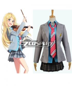 Your Lie in April Kaori Miyazono Cosplay Costume