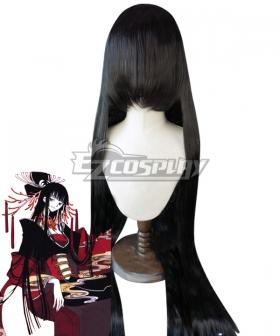 XxxHolic Yuko Ichihara Black Cosplay Wig