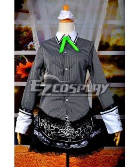 Touhou Project Izayoi Sakuya Cosplay Costume Deluxe Version