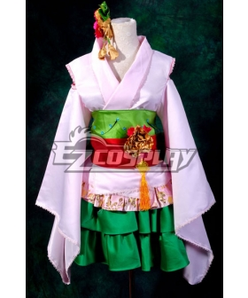 Macross Frontier The Wings of Goodbye Ranka Lee Orian Kimono Cosplay Costume
