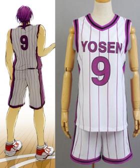 Kuroko's Basketball Yosen jersey cosplay costume