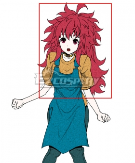 Your Turn To Die Nao Egokoro Red Cosplay Wig