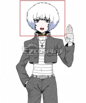 Your Turn To Die Ranmaru Kageyama White Cosplay Wig