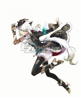Ys IX: Monstrum Nox White Cat Cosplay Costume