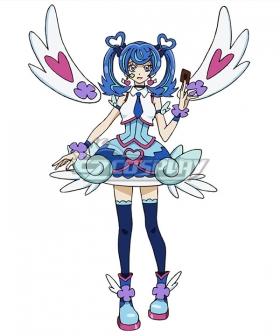 Yu-Gi-Oh! VRAINS Blue Angel Aoi Zaizen Cosplay Costume