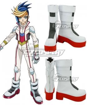 Yu-Gi-Oh! Yugioh ARC-V Yugo White  Cosplay Shoes