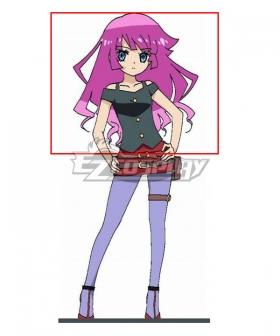 Yu-Gi-Oh! Yugioh Sevens Gakuto Sougetsu Purple Cosplay Wig