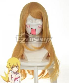 Nisemonogatari Oshino Shinobu Yellow Cosplay Wig-035A