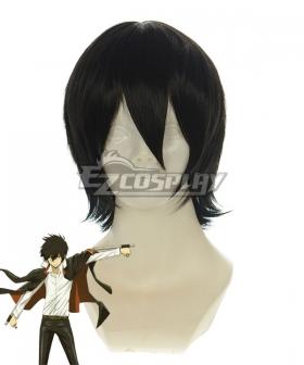 Katekyo Hitman Reborn! Hibari Kyouya Black Cosplay Wig 188E