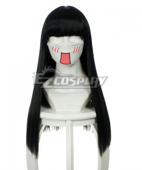 Universal Black 60cm Long Wig-032D