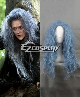 Movie Into the Woods The Witch Long Wavy Cosplay Wig-360C