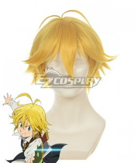 The Seven Deadly Sins Dragon's Sin of Wrath Cosplay Wig 372A