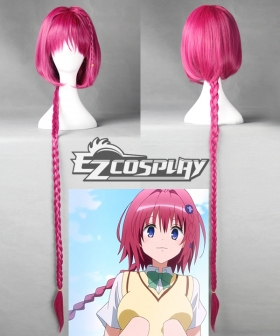 To Love Ru Trouble Darkness 2nd Mea Kurosaki Long Braid Cosplay Costume - 385B