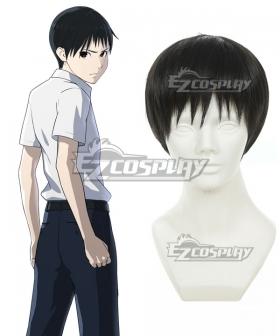 Ajin Demi Human Kei Nagai Black Cosplay Wig 404B