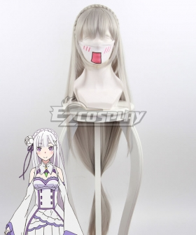 Re: Life In A Different World From Zero Emilia Gray Cosplay Wig 400B