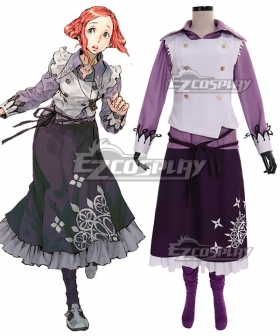 Zero Escape Luna Cosplay Costume