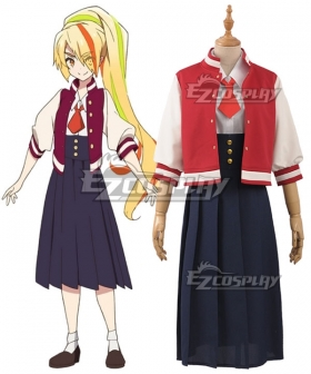 Zombieland Saga Nikaidou Saki Normal Cosplay Costume