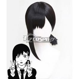 Chainsaw Man Kobeni Higashiyama Black Cosplay Wig