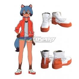 Bna Brand New Animal Michiru Kagemori White Cosplay Shoes