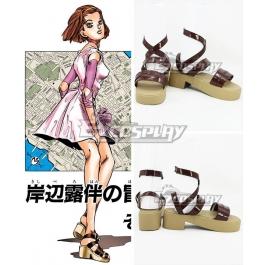 JoJo/'s Bizarre Adventure Diamond Is Unbreakable Reimi Sugimoto cosplay Party wig