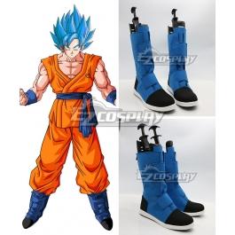 Dragon Ball Z Super Son Goku Blue Black