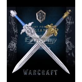 Warcraft Lionheart King Ring Llane Wrynn Stormwind Cosplay Silver Ti Alloy