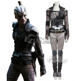 New Arrival Star Trek Beyond Jaylah Cosplay Costume Outfit Custom Size Halloween