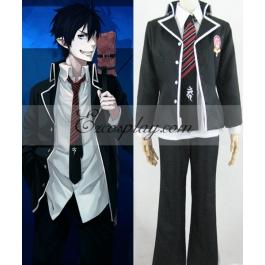 Blue Exorcist Ao no Exorcist Okumura Rin School Uniform Cosplay Costume