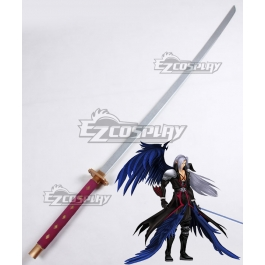 Final Fantasy Vii Ff7 Sephiroth Red Sword B Cosplay Weapon Prop