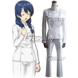 Shokugeki no Soma Alice Nakiri Cosplay Costume Chef Uniforms Customized