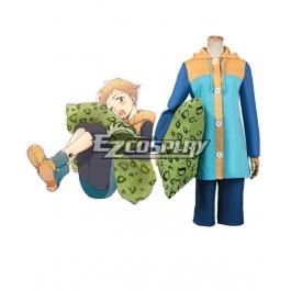 Costume da Cosplay dei Sette Deadly Sins King Cosplay Halloween Nanatsu No Taizai Grizzly sin of Sloth Felpa con Cappuccio