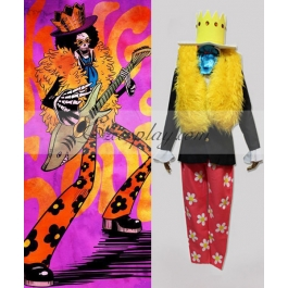 One Piece Brook After 2Y Cosplay Costume