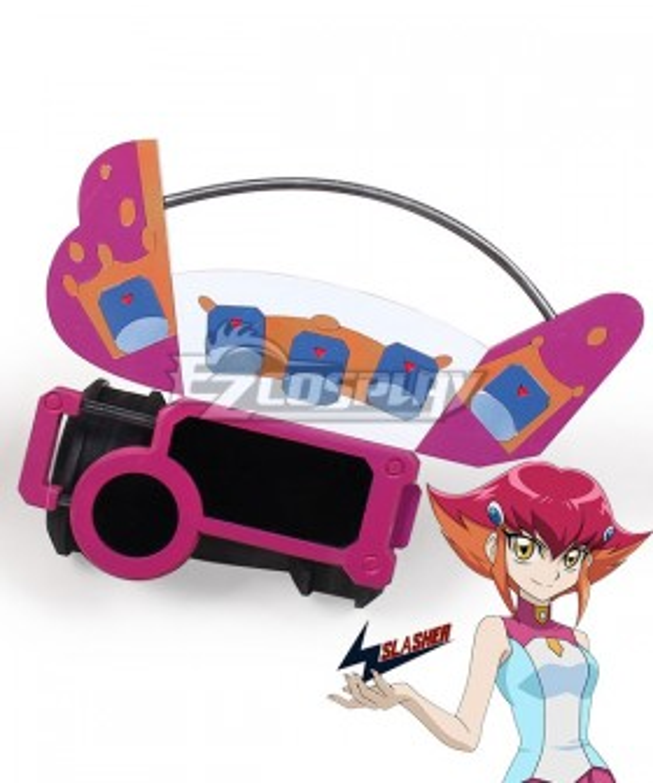 Yu-Gi-Oh! Yugioh ZEXAL Kozuki Anna Pink Duel Disk Cosplay Weapon Prop