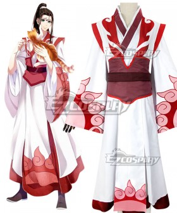 The Grandmaster of Demonic Cultivation Mo Dao Zu Shi Wen Ning Cosplay Costume