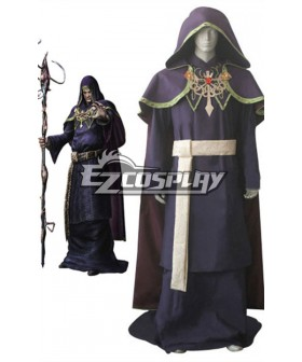 Resident Evil 4 Osmund Saddler Cosplay Costume