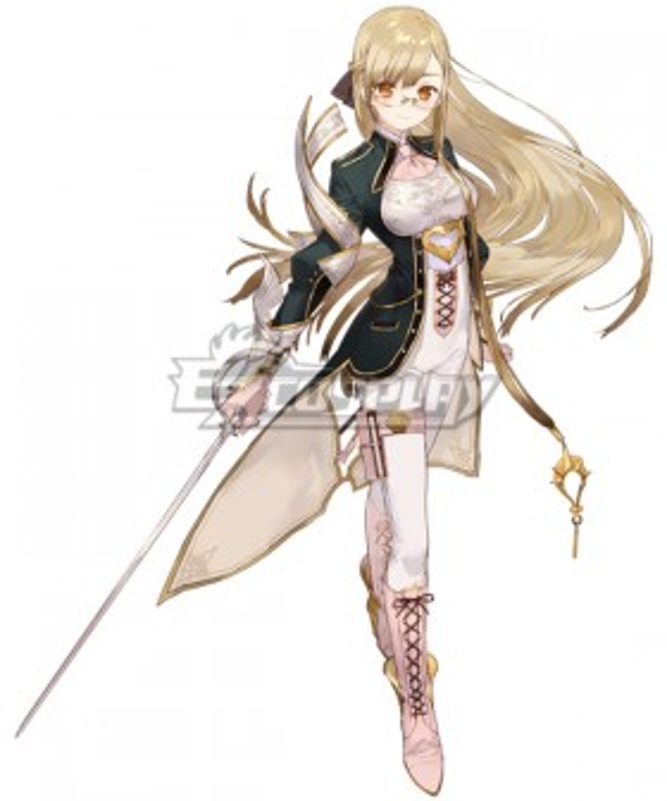 Atelier Sophie: The Alchemist of the Mysterious Book Monika Ellmenreich Cosplay Costume