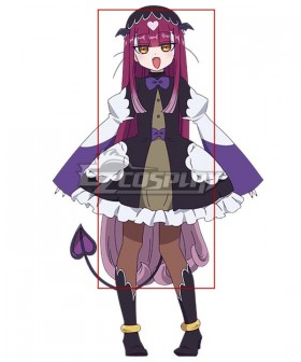Sleepy Princess in the Demon Castle Sakkyun Bussy Purple Cosplay Wig