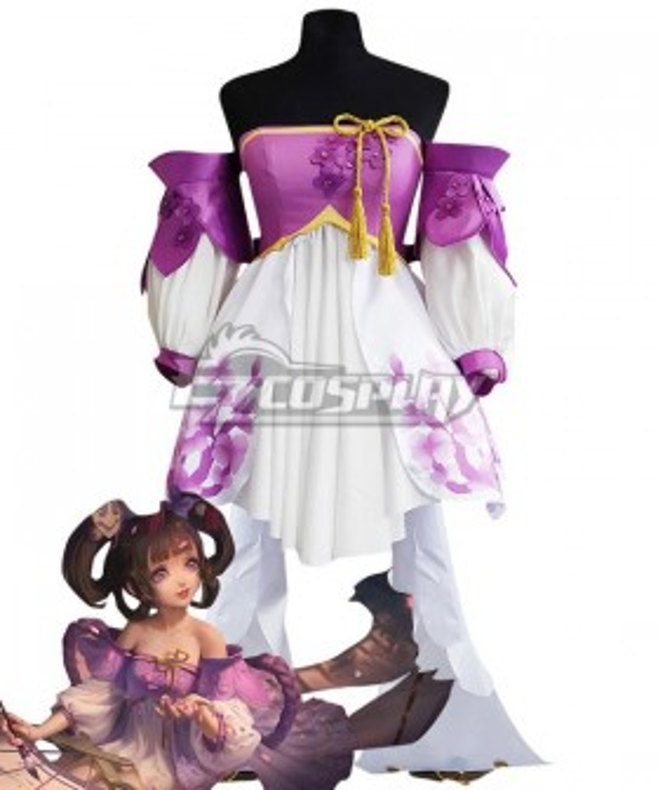 King Glory Honor of Kings Xiao Qiao Lilac Cosplay Costume