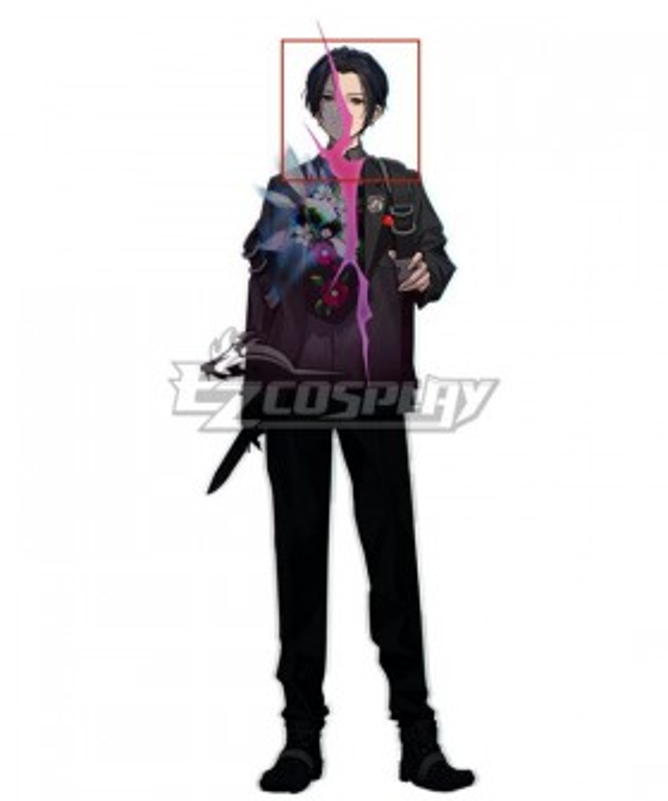 Caligula2 Protagonist Male Black Cosplay Wig
