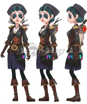 Identity V Emily Dyer Lydia Jones Pirate Doctor Halloween Cosplay Costume