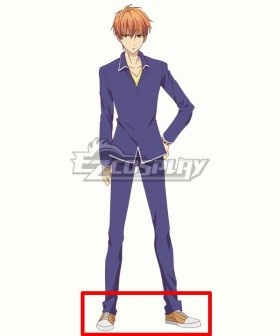 Fruits Basket The Final Kyo Soma Yellow Cosplay Shoes